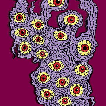 Viele Augen Monster von jarhumor