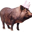 Miss Queen Pig by #PoptART products from Poptart.me