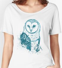 Owl Tee Women's Relaxed Fit T-Shirt