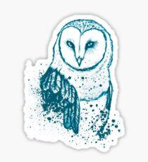 Owl Tee Sticker