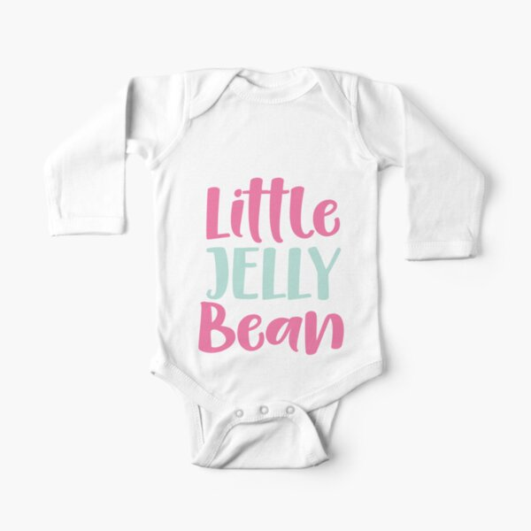 Little Jelly Bean Long Sleeve Baby One-Piece