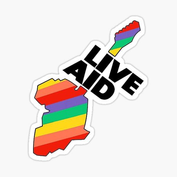 Live Aid Sticker