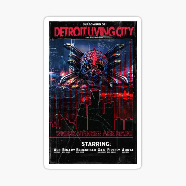 DLC VHS Cover only Sticker