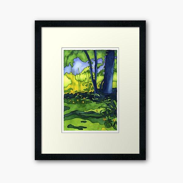 Psychedelic Summer Framed Art Print