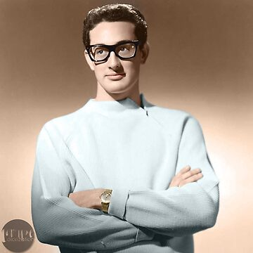 Buddy Holly - Colorized  by Laurynsworld