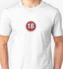 Over 18 Unisex T-Shirt