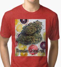 Romulan Grapefruit Tri-blend T-Shirt