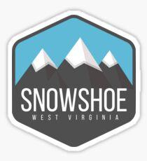 Snowshoe Sticker