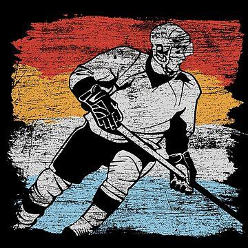 Ice hockey player by GeschenkIdee