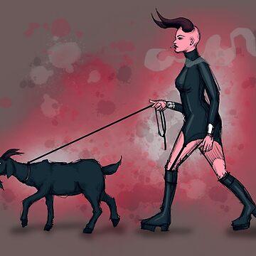 Goat Walk by LVBART
