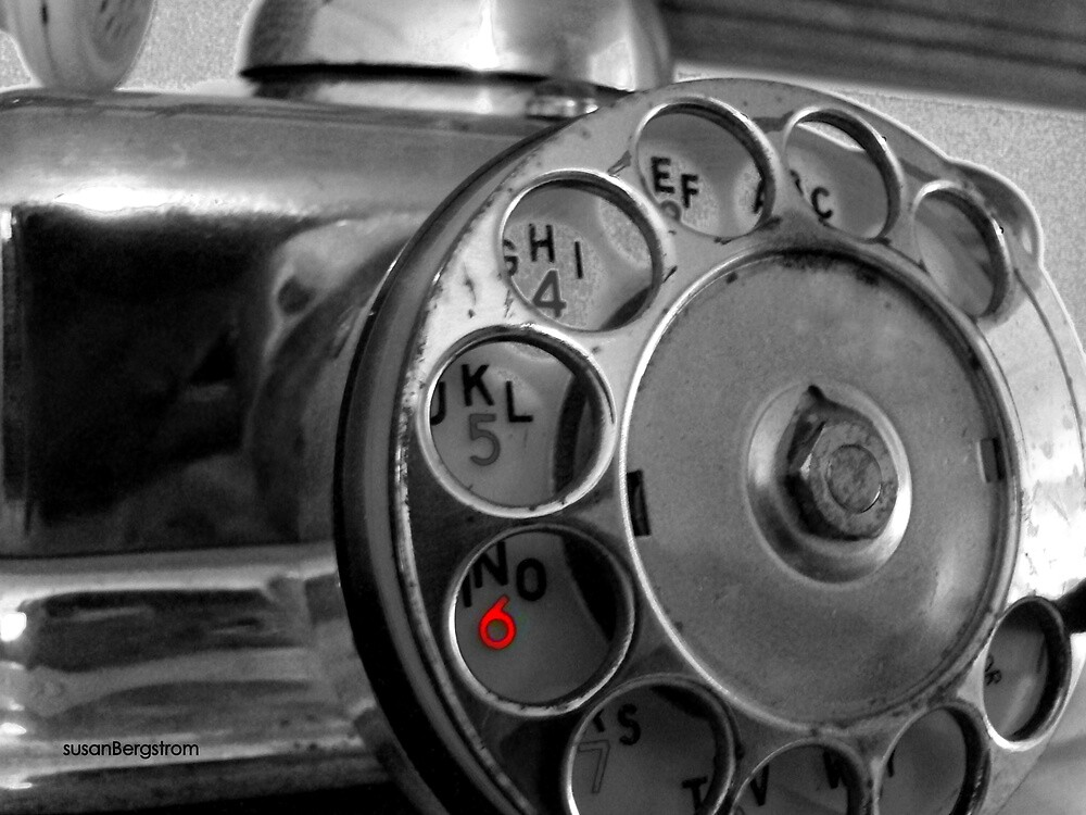 Telephone by Susan  Bergstrom