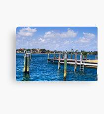 Wooden Pier  Canvas Print