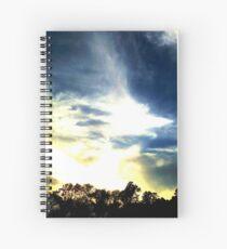 Sunset Trees Spiral Notebook