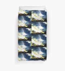 Sunset Trees Duvet Cover