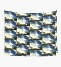 Sunset Trees Wall Tapestry