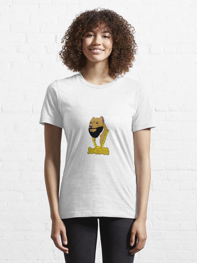 Alternate view of Z-Dogg Signature Logo Essential T-Shirt