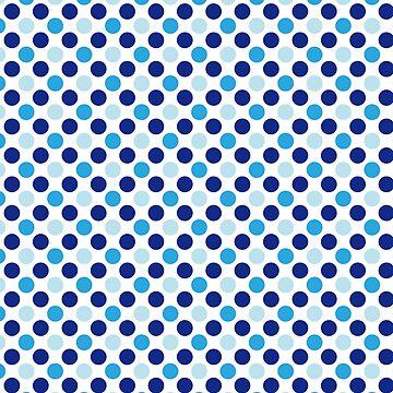 Blue Dots  by deecdee