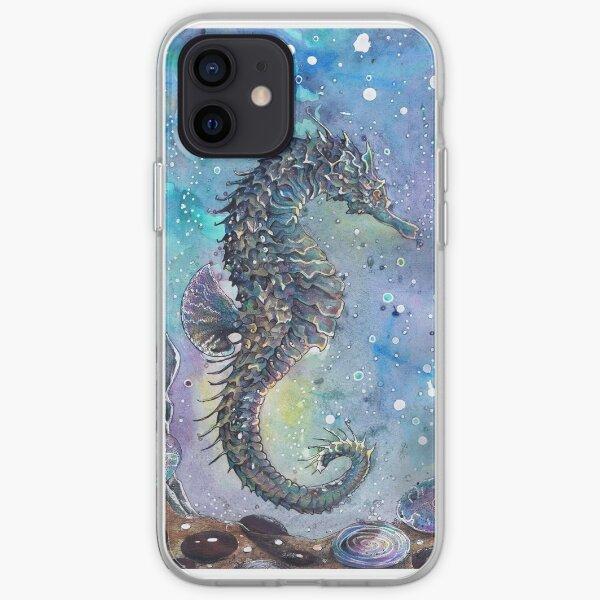 Batik Seahorse iPhone Soft Case