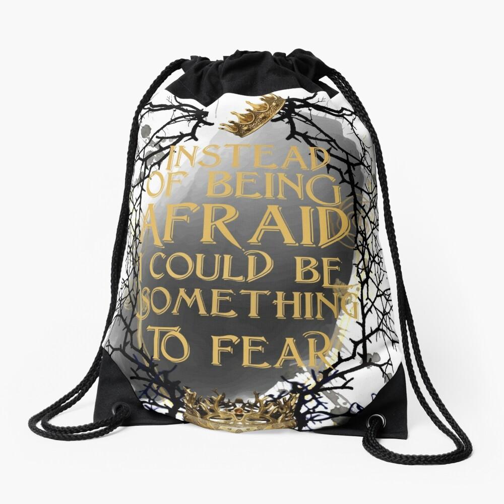 something to fear - jude  Drawstring Bag