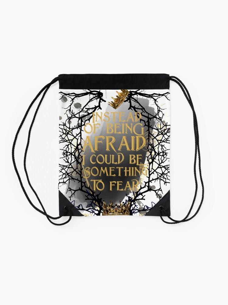 Alternate view of something to fear - jude  Drawstring Bag