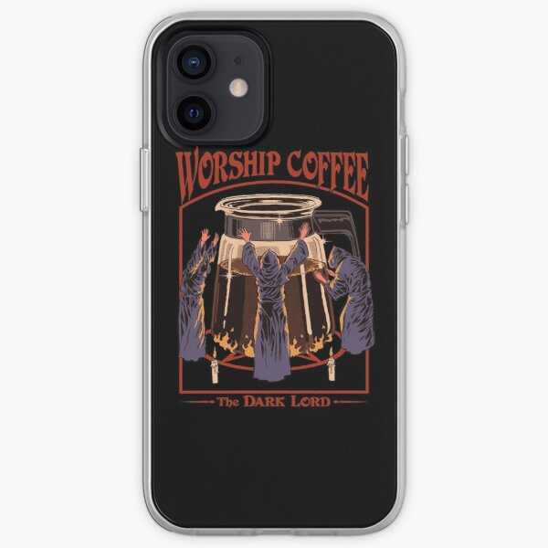 Worship Coffee iPhone Soft Case