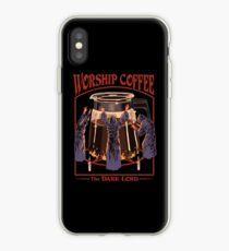 Anbetung Kaffee iPhone-Hülle & Cover