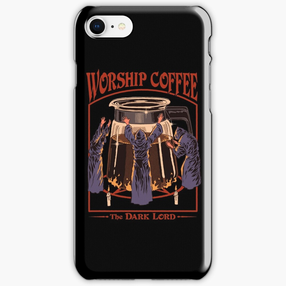 Worship Coffee iPhone Case & Cover