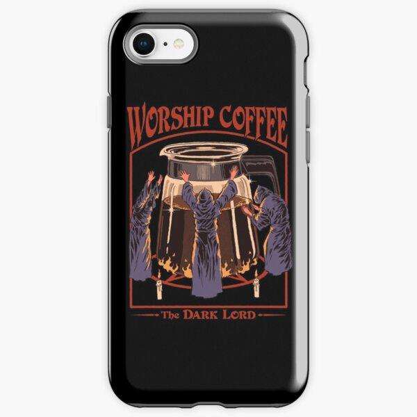 Worship Coffee iPhone Tough Case