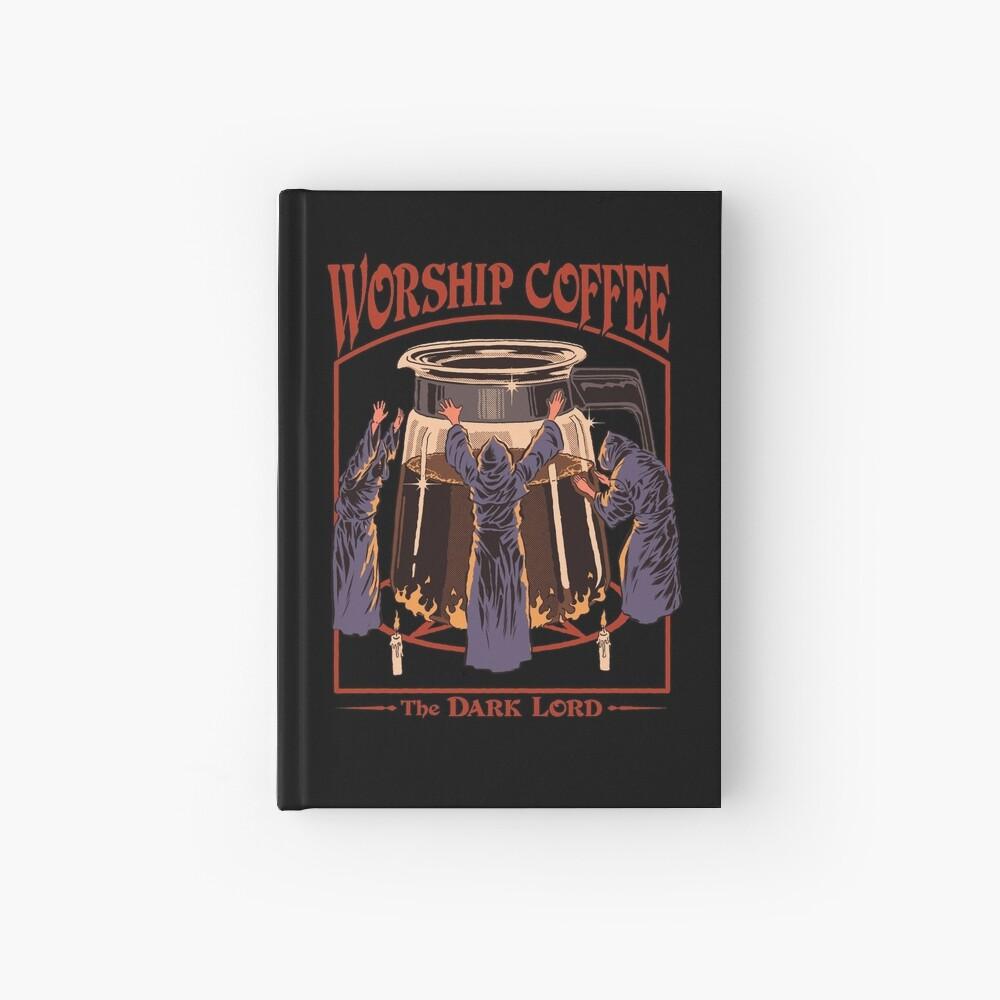 Worship Coffee Hardcover Journal