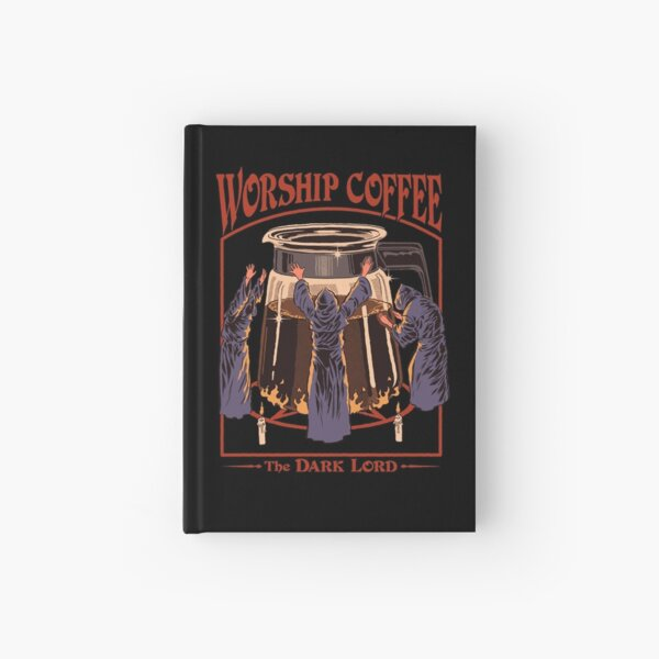 Worship Coffee Hardcover Journal