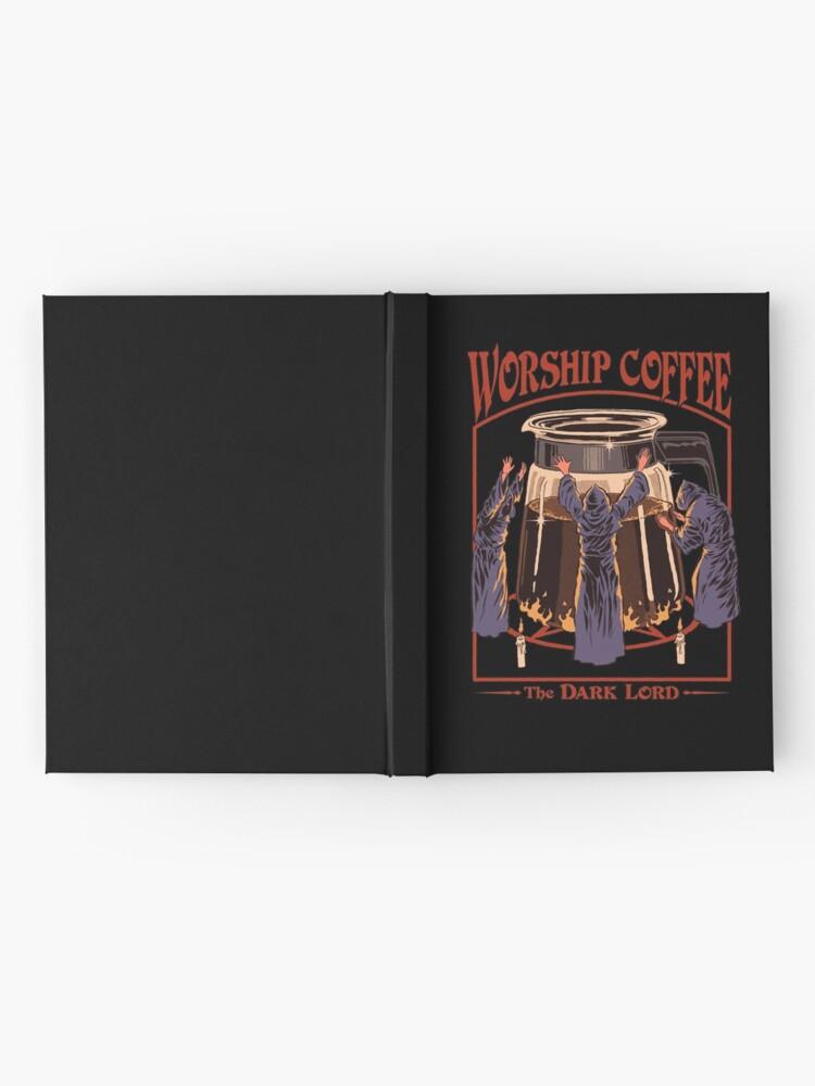 Alternate view of Worship Coffee Hardcover Journal