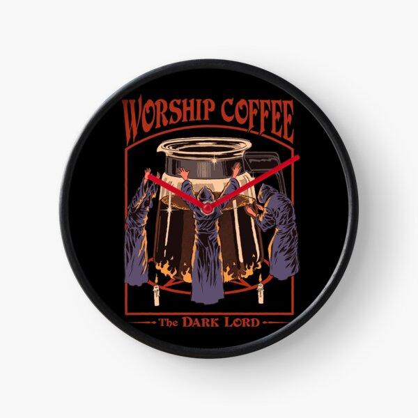 Worship Coffee Clock