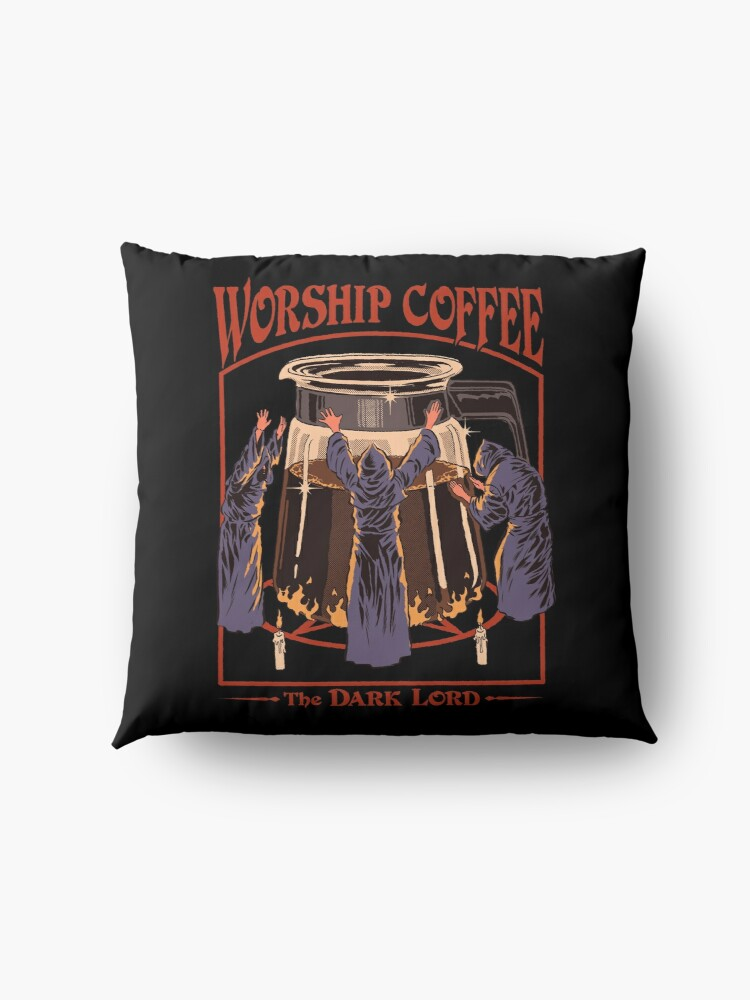 Alternate view of Worship Coffee Floor Pillow