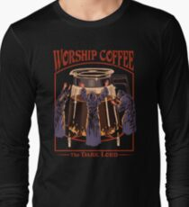 Worship Coffee Long Sleeve T-Shirt