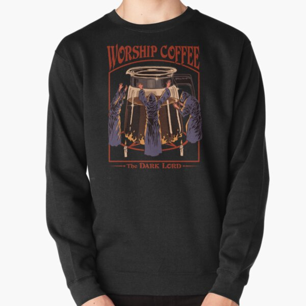 Worship Coffee Pullover Sweatshirt