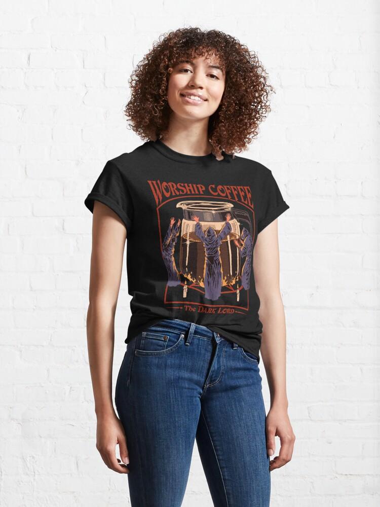 Alternate view of Worship Coffee Classic T-Shirt