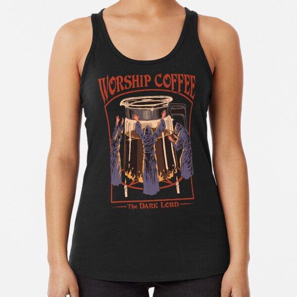 Worship Coffee Racerback Tank Top