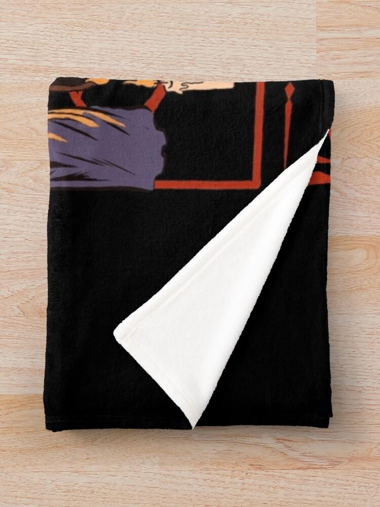 Alternate view of Worship Coffee Throw Blanket