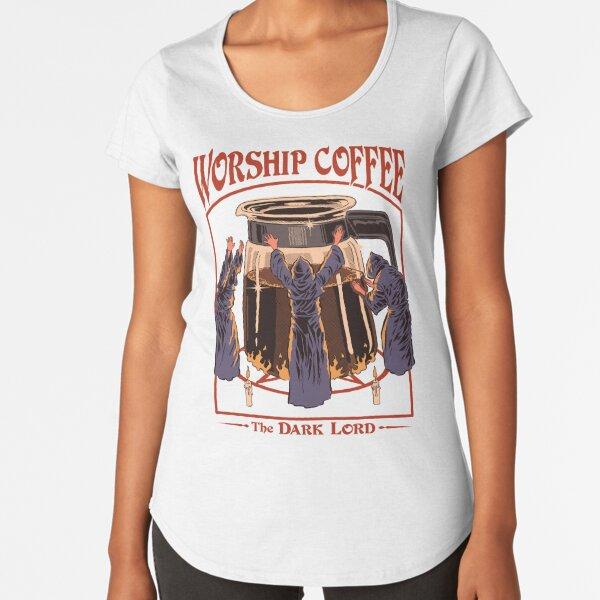 Worship Coffee Premium Scoop T-Shirt