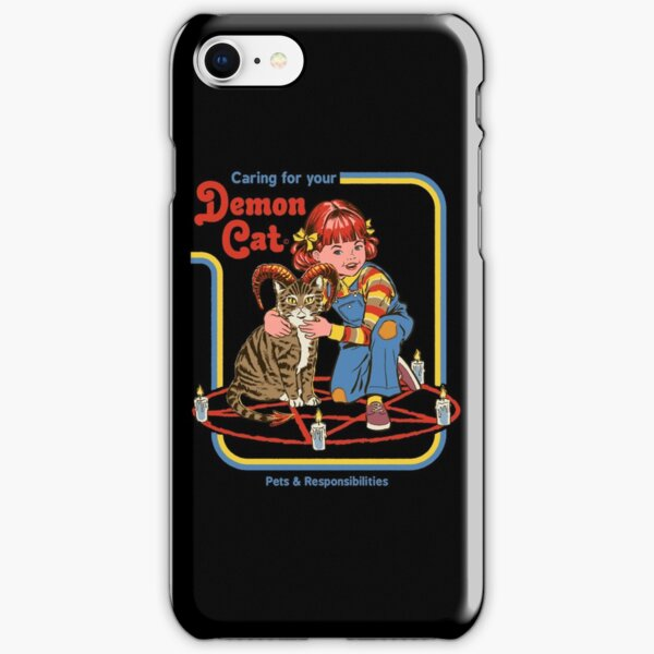 Caring For Your Demon Cat iPhone Snap Case