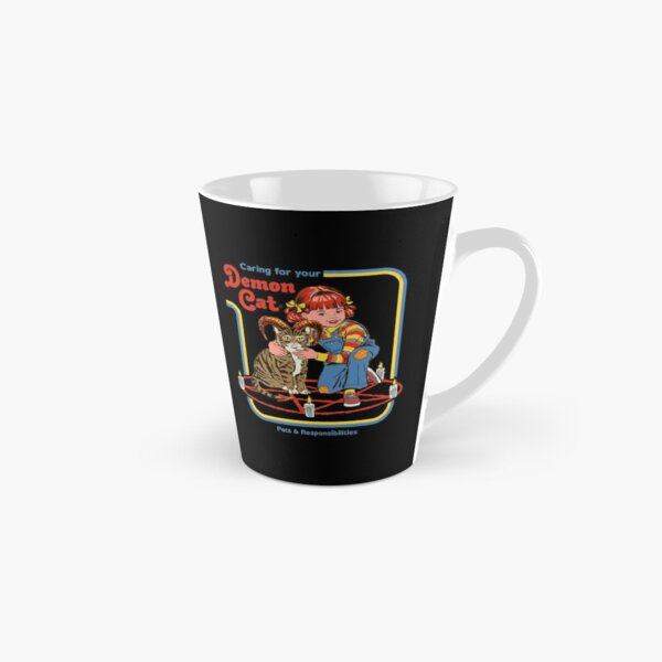 Caring For Your Demon Cat Tall Mug