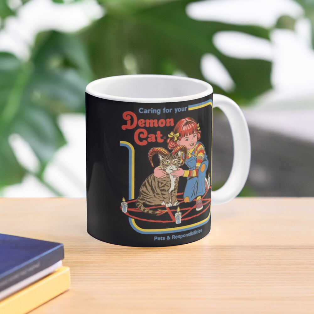 Caring For Your Demon Cat Mug