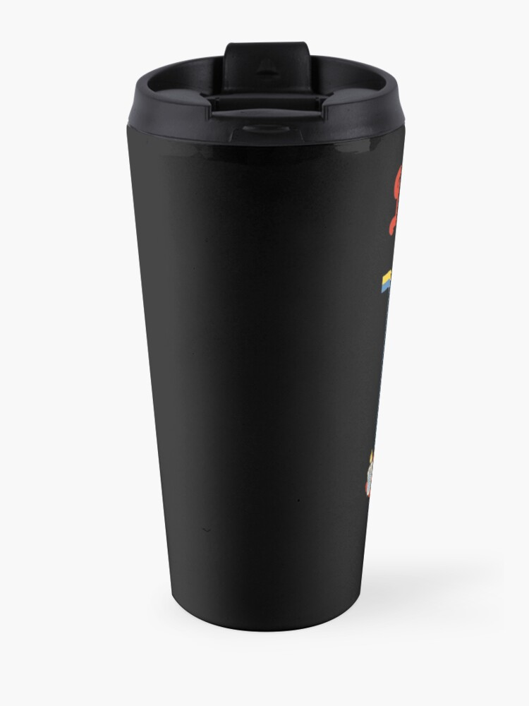 Alternate view of Caring For Your Demon Cat Travel Mug