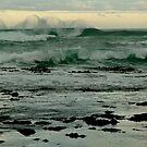Wispy Surf,Gibson's Beach,Great Ocean Road by Joe Mortelliti