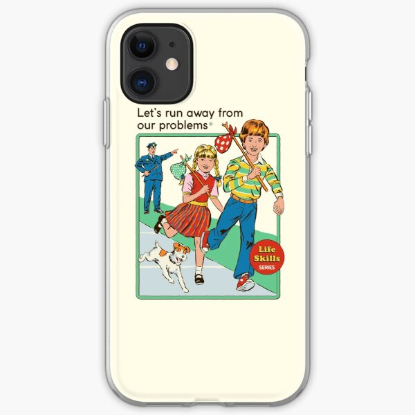 Let's Run Away iPhone Soft Case