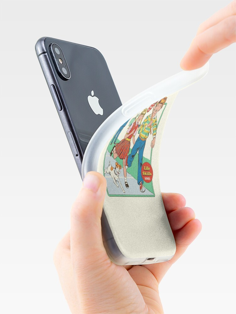 Alternate view of Let's Run Away iPhone Case & Cover