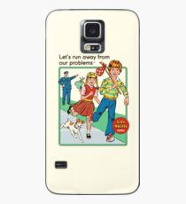 Let's Run Away Case/Skin for Samsung Galaxy