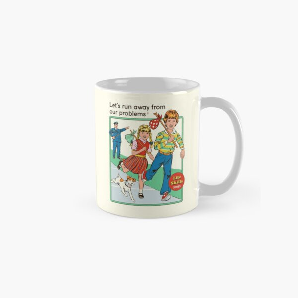 Let's Run Away Classic Mug