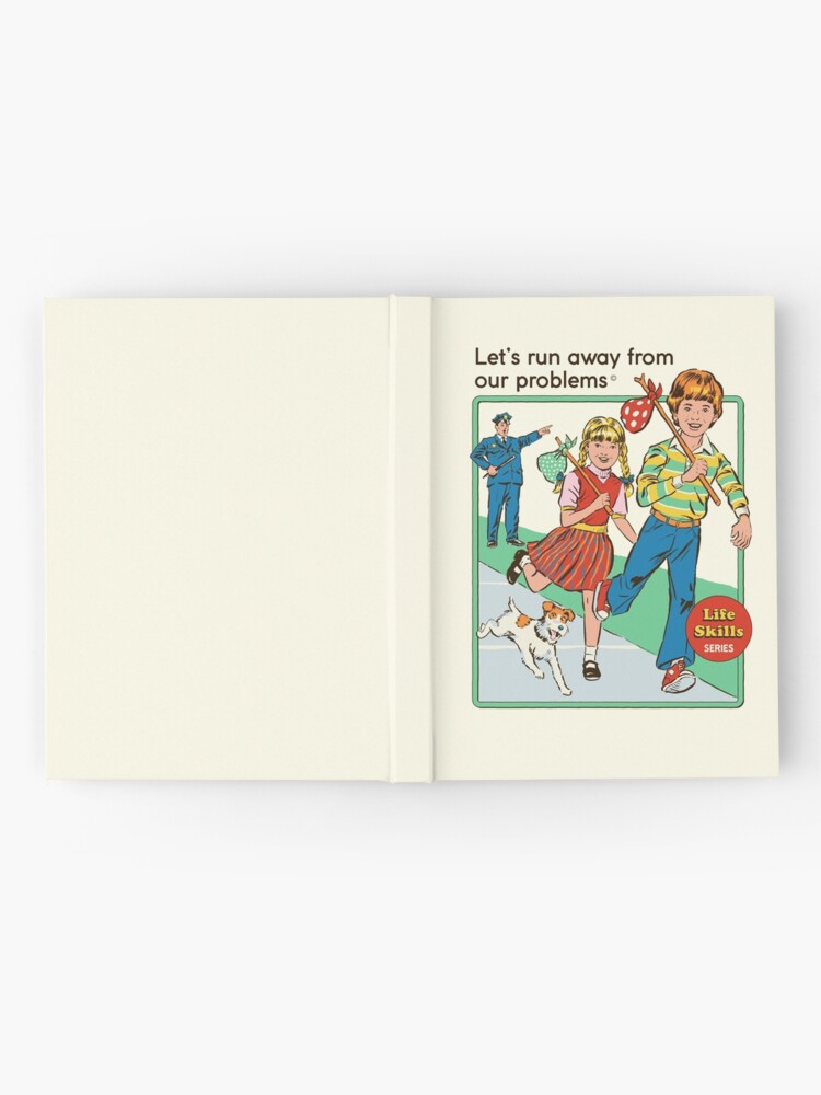 Alternate view of Let's Run Away Hardcover Journal