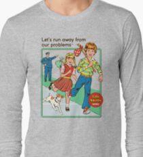 Échappons-nous T-shirt manches longues